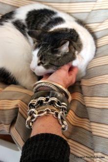Chunkey Silver Vintage Bracelets
